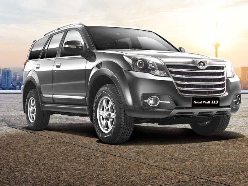 SUV Great Wall H3 seguridad en su conducción repuestos asegurados