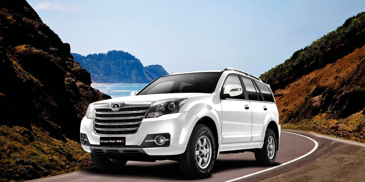 SUV Great Wall H5 Turbo con tracción 4x4