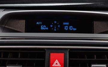 SUV Great Wall H5 Turbo con altímetro, barómetro y brújula