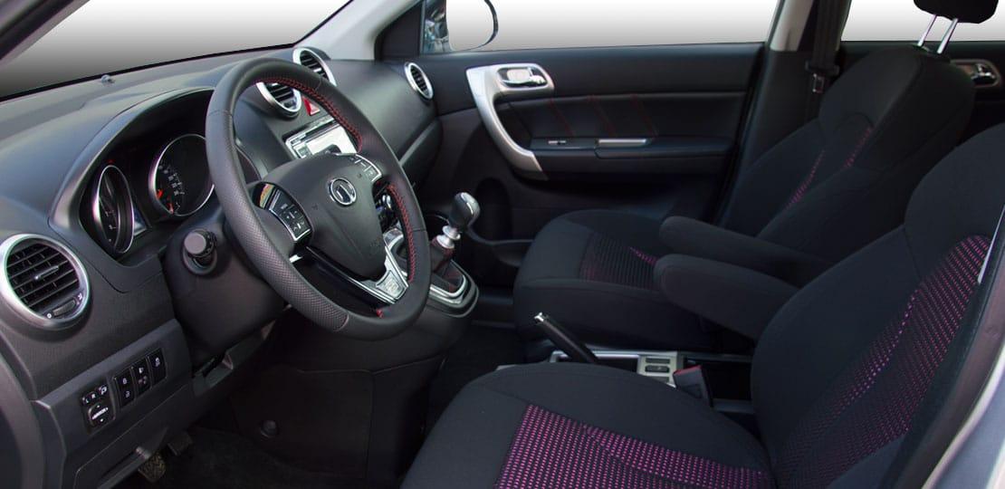 SUV Great Wall H6 con gran espacio interior