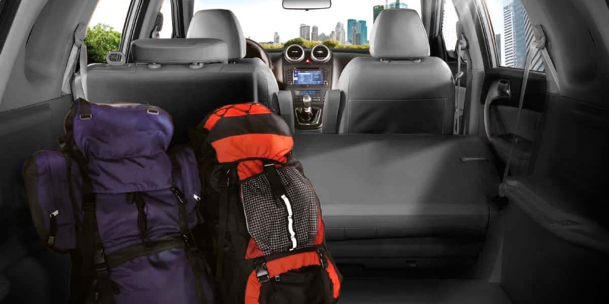 SUV Great Wall H6 un cajuela extra grande con asientos abatibles