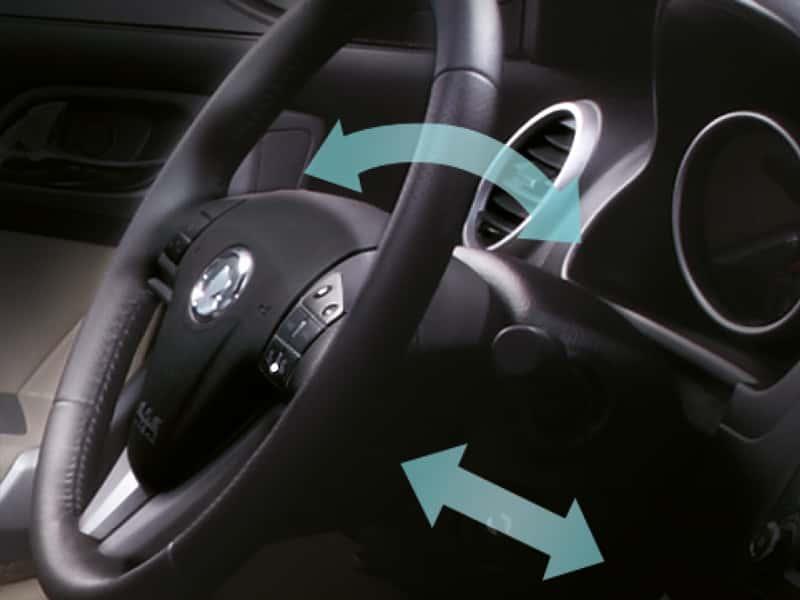 SUV Great Wall H6 regulación del volante