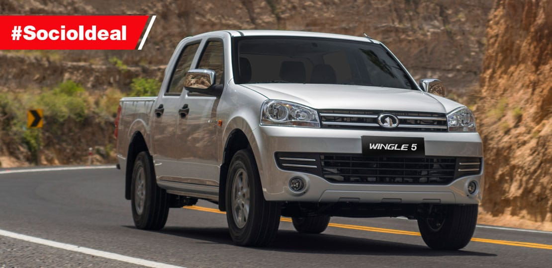 Camioneta Great Wall Wingle 5 doble cabina 2.2 a gasolina tu socio ideal