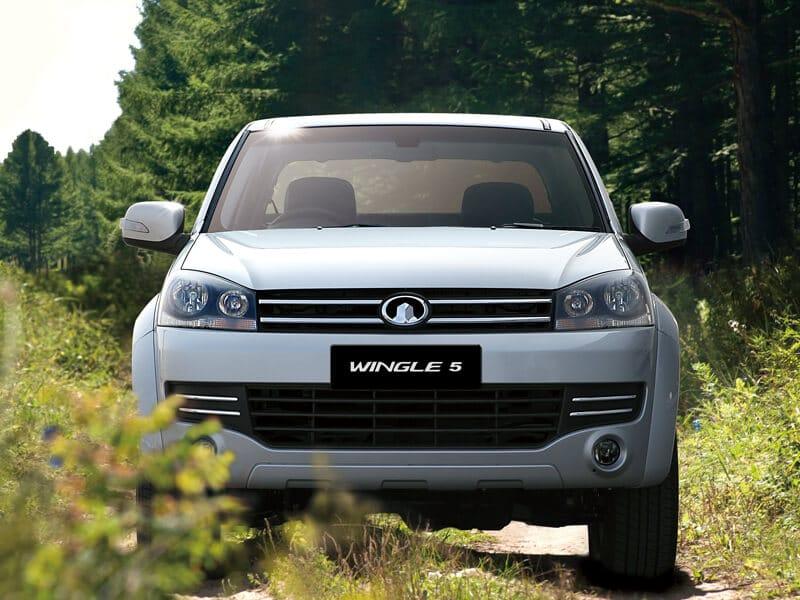 Camioneta Great Wall Wingle 5 repuestos asegurados, número 1 en ventas