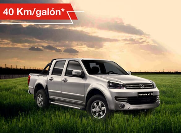 Camioneta Great Wall Wingle 5 doble cabina bajo consumo de combustible