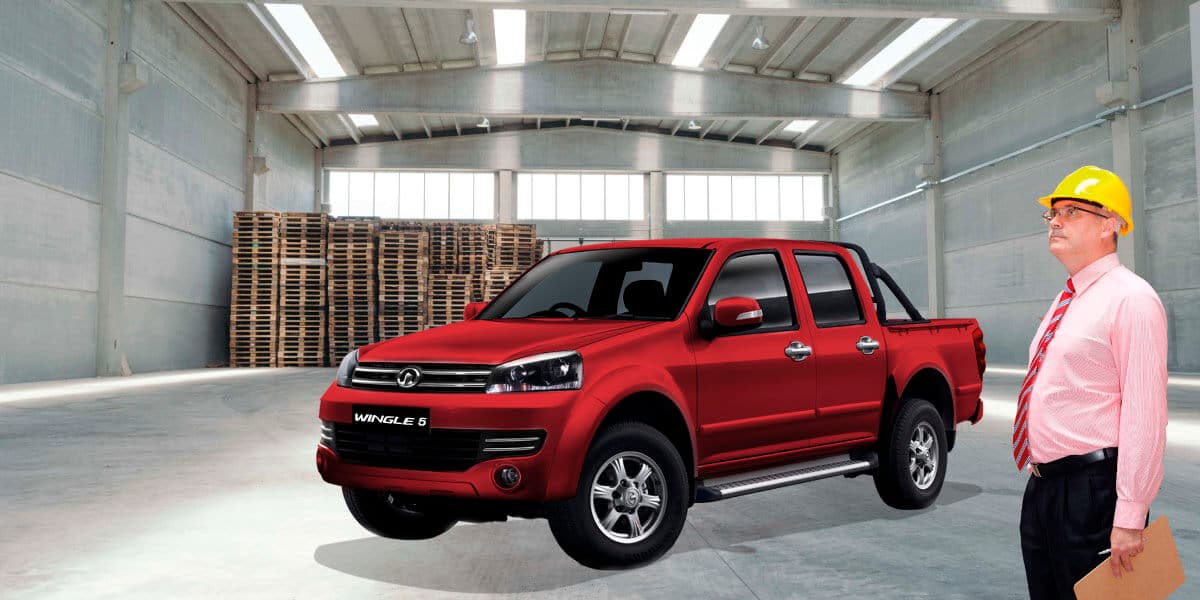 Camioneta Great Wall Wingle 5 doble cabina, tu socio ideal