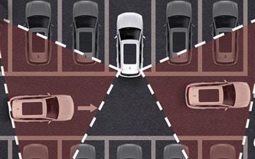 SUV All New Haval H6 extras incluídos con asistente de tráfico cruzado