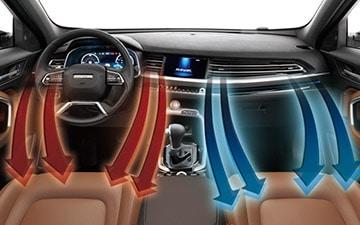 SUV All New Haval H6 aire acondicionado con climatizador dual