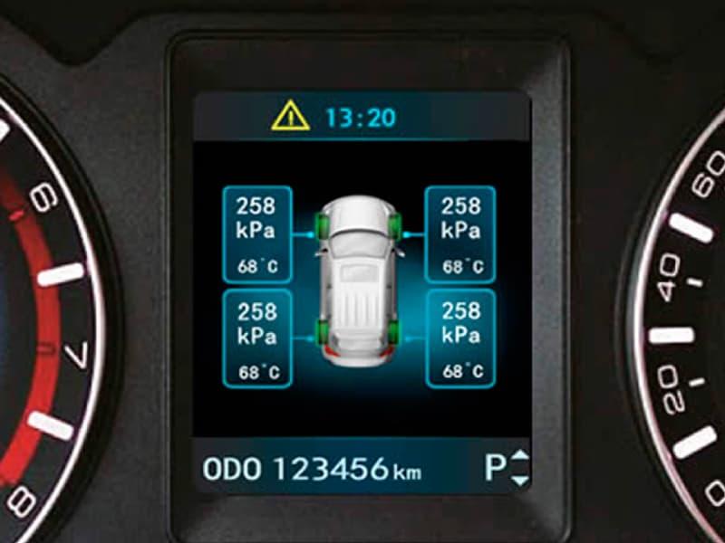 SUV All New Haval H6 con control de presión de los neumáticos, TPMS