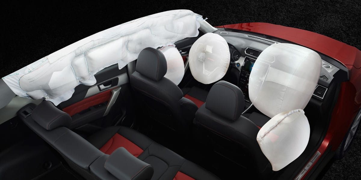 SUV Haval H2 airbag tipo cortina