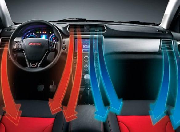 SUV Haval H2 aire acondicionado con climatizador dual