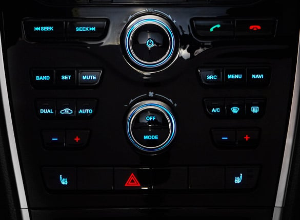 SUV Haval H2 consola central personalizable