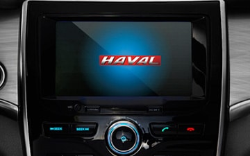 SUV Haval H2 pantalla multimedia