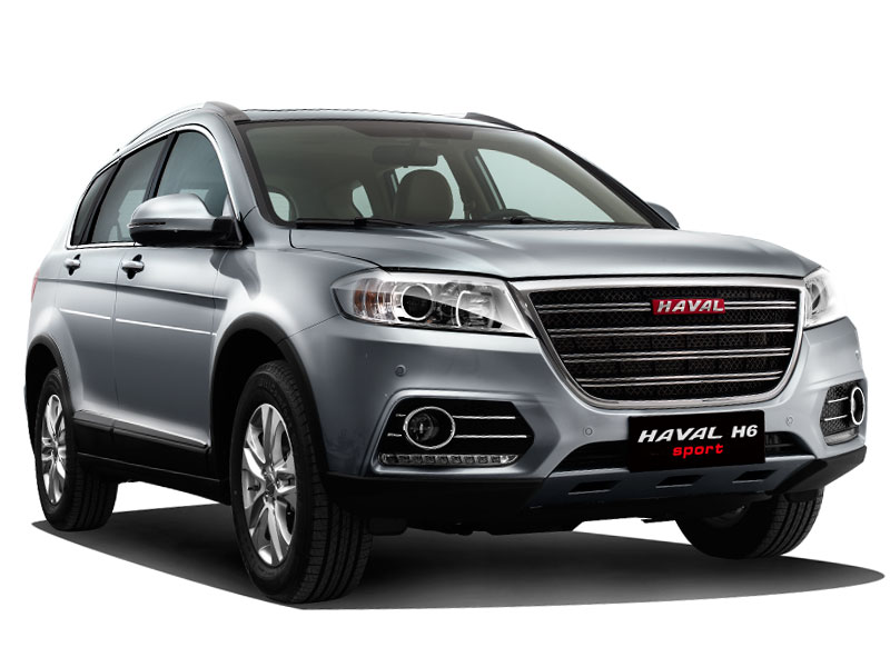 Jeep Haval H6 Sport mascarilla frontal