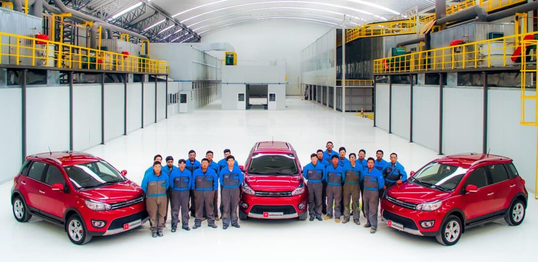 Haval M4 mini SUV ensamblado por manos ecuatorianas, repuestos asegurados