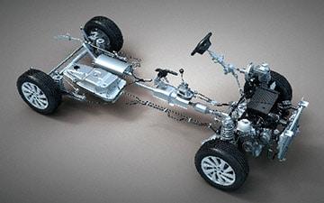 Van Ambacar Shineray MPV 750 con chasis con deformación programada