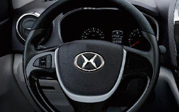 Van Shineray MPV 750 volante ergonómico con mandos al volante, full equipo