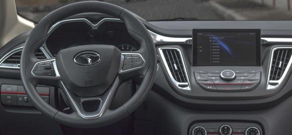 SUV Ambacar marca Soueast DX7 tablero frontal