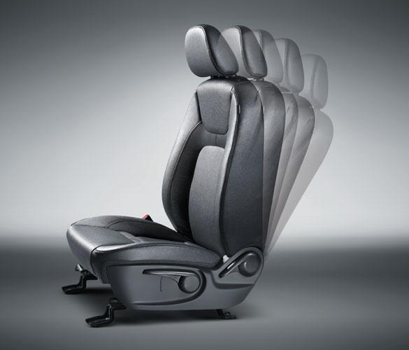 SUV Zotye T600 posiciones de asientos