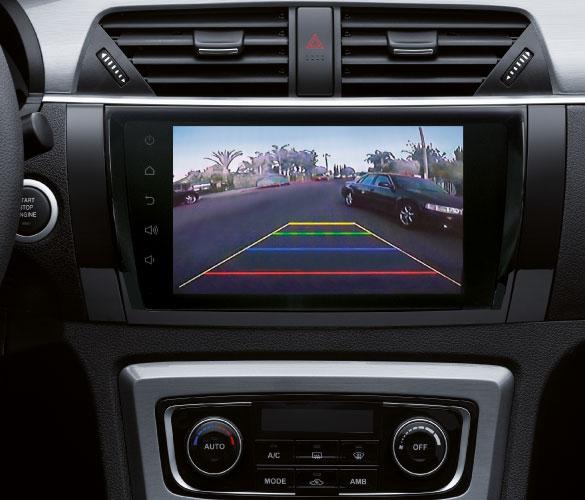 SUV Zotye T600 pantalla con cámara de reversa, repuestos asegurados