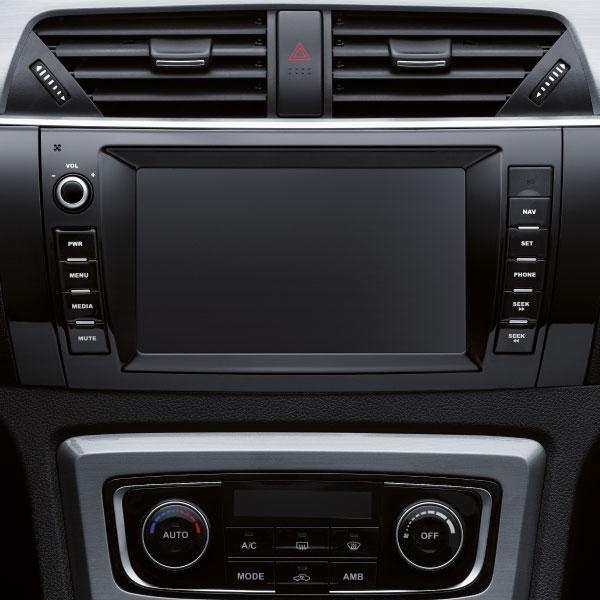 SUV Zotye T600 consola principal