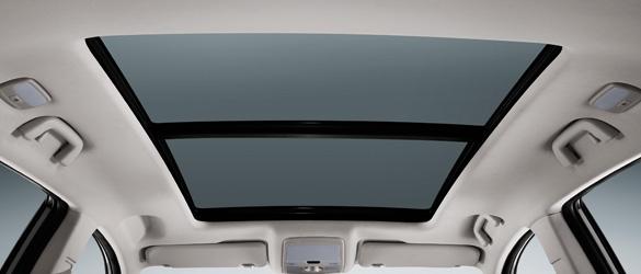 SUV Zotye T600 con techo panorámico sunroof