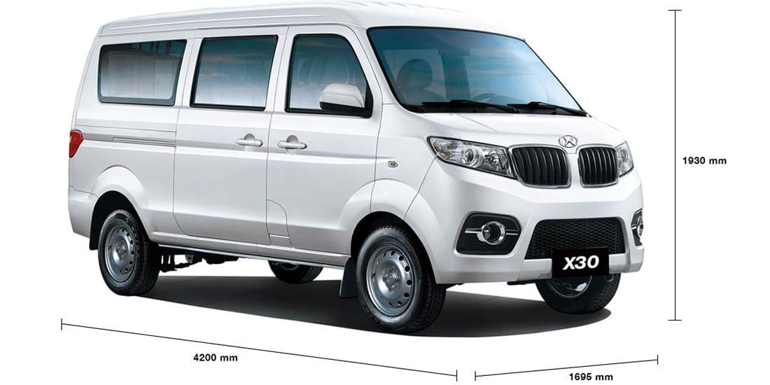 Van Ambacar Shineray X30 para 8 pasajeros soy compacta