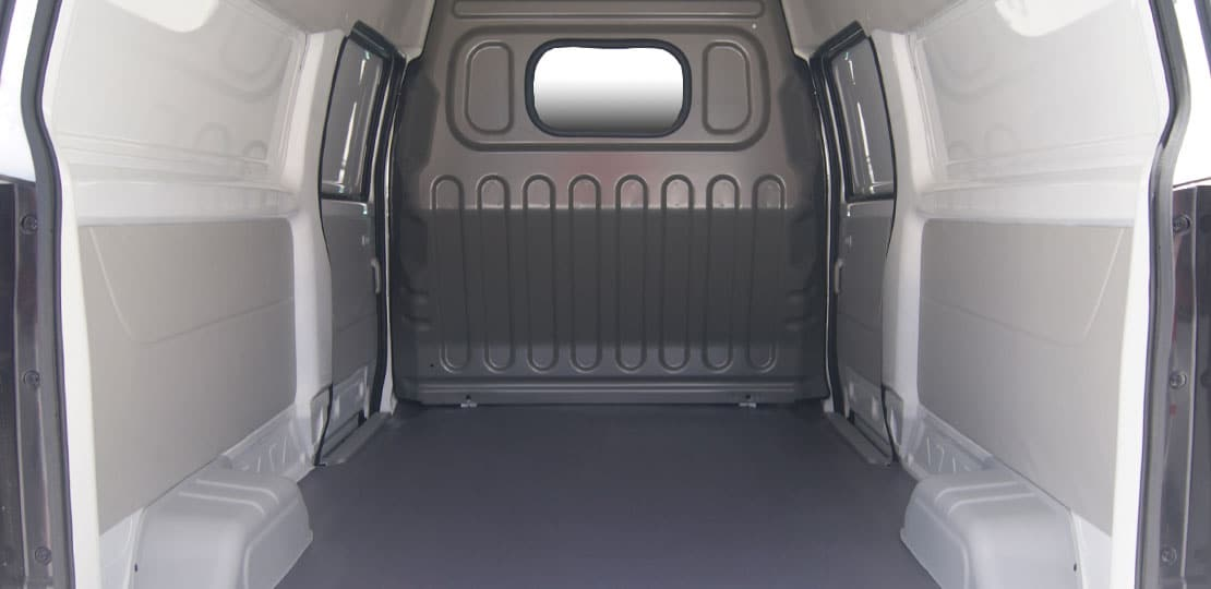 Furgoneta Shineray X30L cargo, capacidad de 750 kg