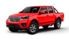 Camioneta Ambacar Great Wall Wingle S en color rojo