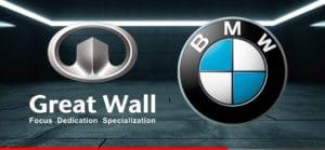 Great Wall y BMW trabajo en conjunto