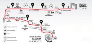 Ruta carrera 10k los tres juanes