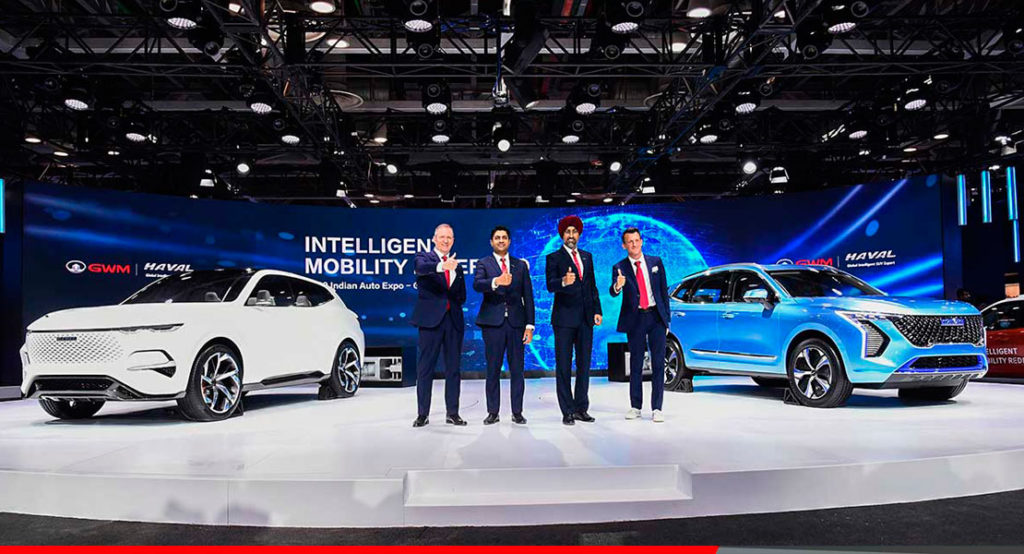 Great Wall, Haval en la India ExpoAuto show 2020