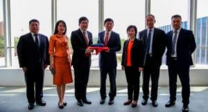 Embajador de Tailandia y su delegación visitan la planta inteligente de Great Wall Motors