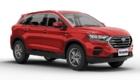 SUV Ambacar Shineray SWM color rojo