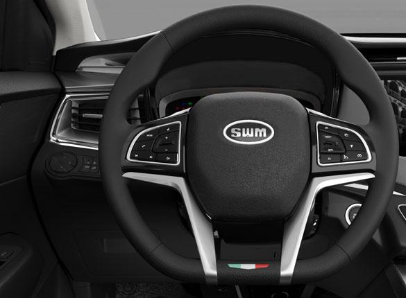 SUV Ambacar Shineray SWM elegante diseño interior