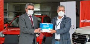 Noticias Ambacar donación al Hospital Regional Docente Ambato