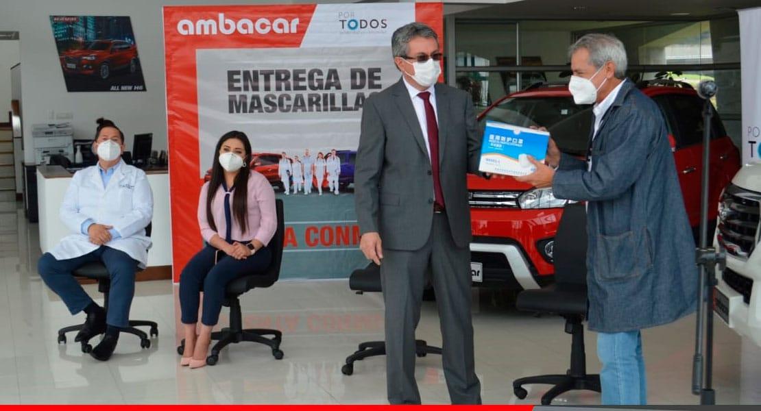 Noticias Ambacar dona 400 millones de dolares en insumos médicos