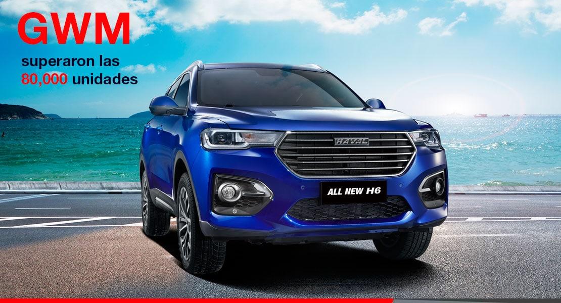 Noticias Ambacar Great Wall Motors vendió más de 80 mil unidades en el mes de mayo 2020