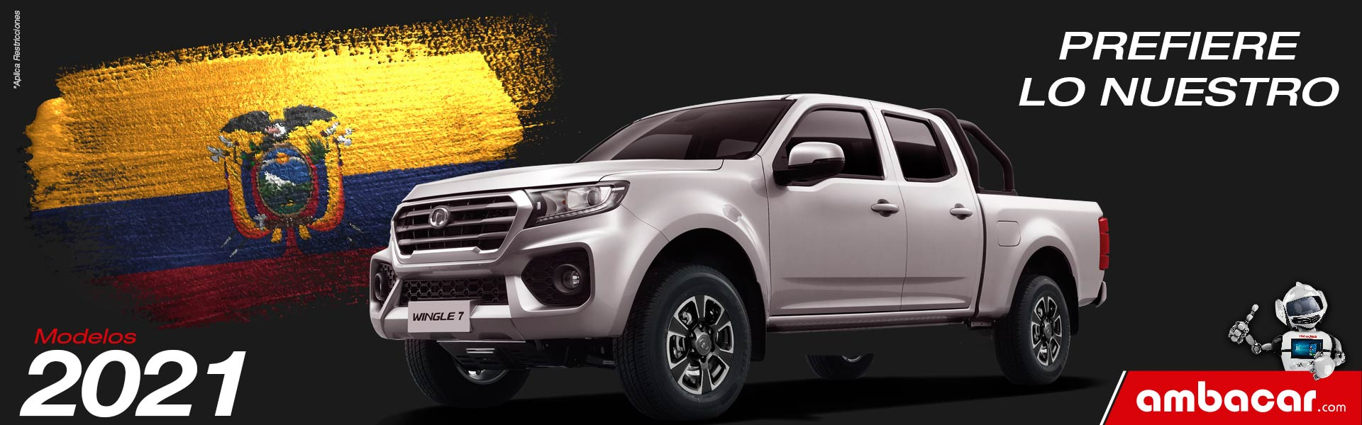 Modelos Ambacar año 2021 Camioneta Great Wall Wingle 7