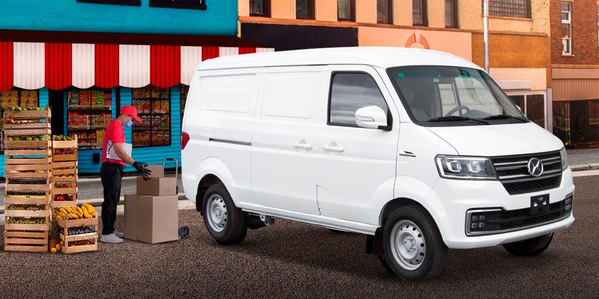 Van Shineray X30 de carga perfecta para el trabajo