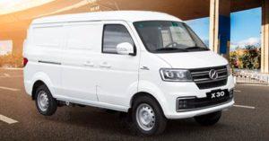 Vans Shineray las más vendidas en el Ecuador - X30 cargo Ambacar