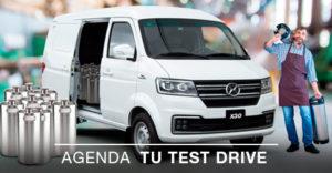 Ambacar Test Drive Van Shineray X30 cargo