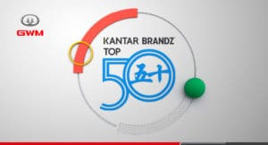 GWM entre los 50 principales creadores de marcas según BrandZ™