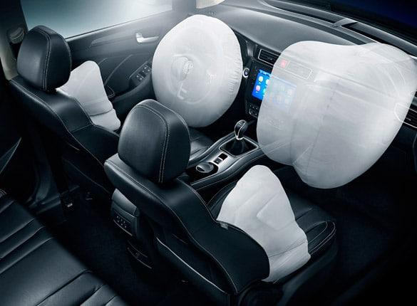 SUV Ambacar Glory 580 seguridad pasiva con airbags