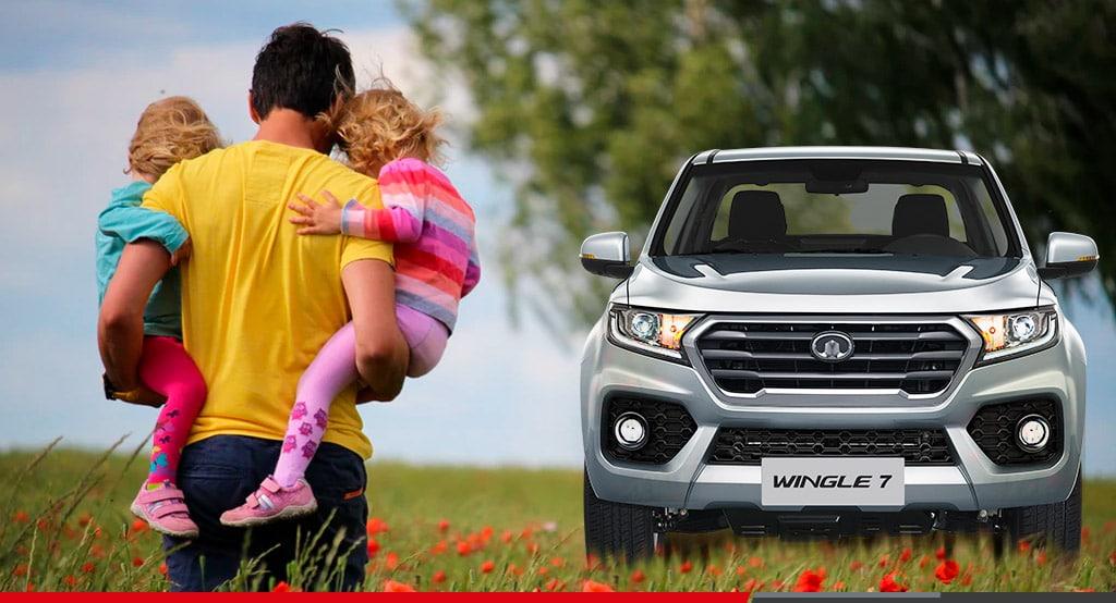 Una camioneta ideal para el papá aventurero
