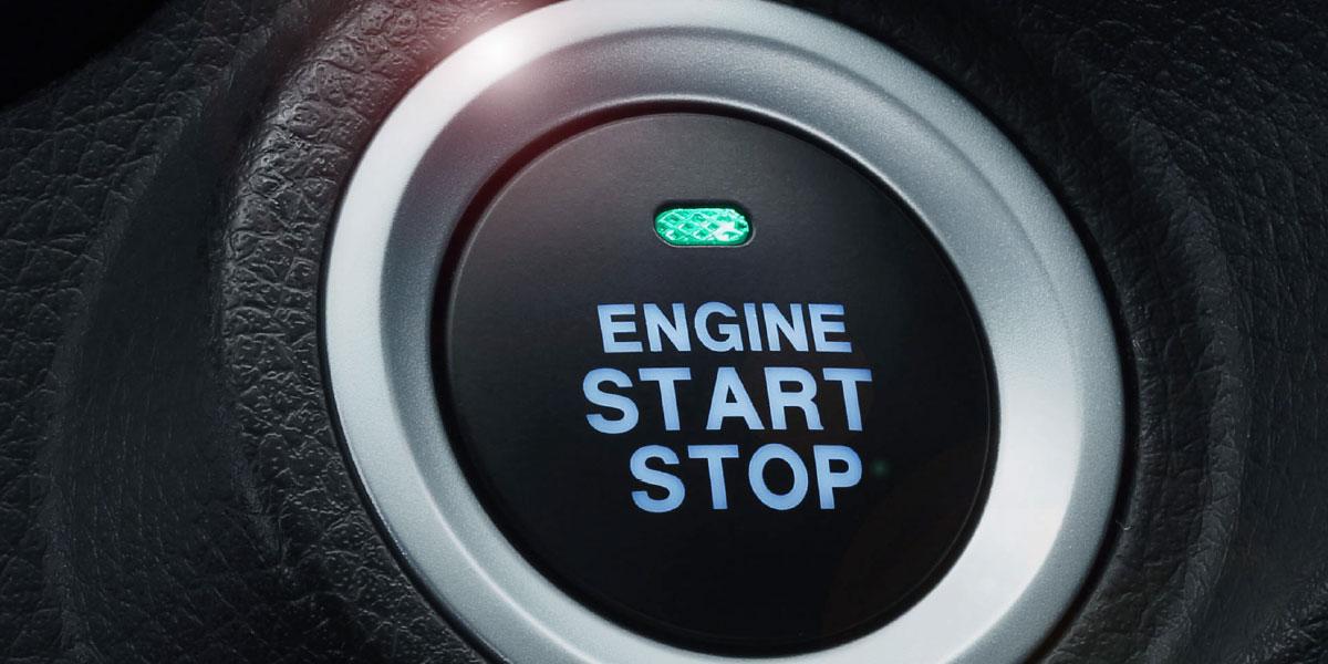 SUV DFSK Glory 580 botón de encendido