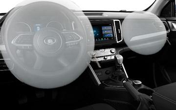 Camioneta Ambacar POER doble cabina con doble airbag