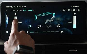 SUV Ambacar H6 tercera generación climatizador bi zona