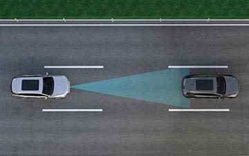 SUV Ambacar H6 tercera generación cruce de tráfico