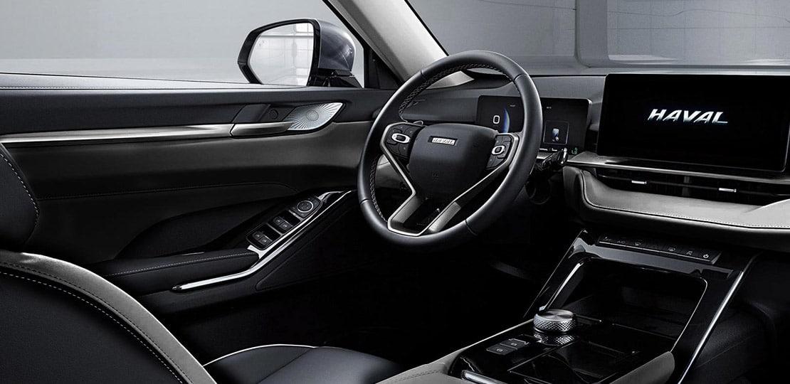 SUV Ambacar H6 tercera generación tablero frontal